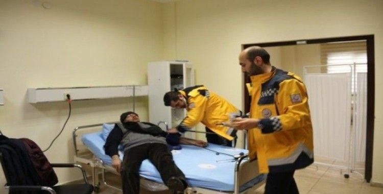 Erciyes Kayak Merkezi'nde açılan poliklinik 500 kişiye hizmet verdi