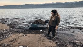 Sapanca Gölü'ne atılan ağlar ördek ve balıkları telef etti