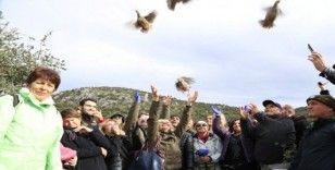 Kaş'ta 'Topçu Yolu Yürüyüşü'