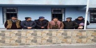 Niğde'de 6 düzensiz göçmen yakalandı