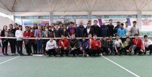 Şanlıurfa'da 2020'nin ilk tenis turnuvası düzenlendi