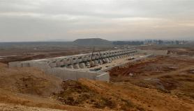 Reyhanlı Barajında su tutuldu