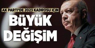 AK Parti'de büyük değişime adım adım...
