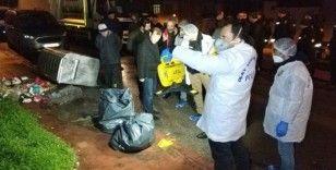 Samsun'da çöp konteynerlerinde bulunan cesedin kimliği tespit edilemedi