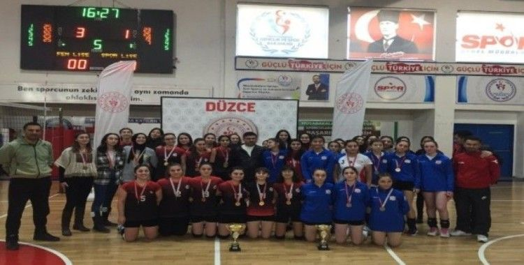 Genç kızlar voleybolda şampiyon belli oldu