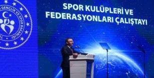 Bakan Kasapoğlu: 'Spor Kulüpleri ve Federasyonları Yasası gündeme alınacak'