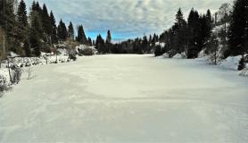 Balıklıgöl dondu