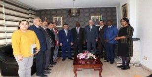 SANKON'dan Kongo Cumhuriyeti Büyükelçiliğine ziyaret