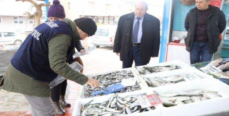 Sivas'ta su ürünleri denetimleri