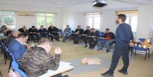 SASKİ personeline ilk yardım eğitimi