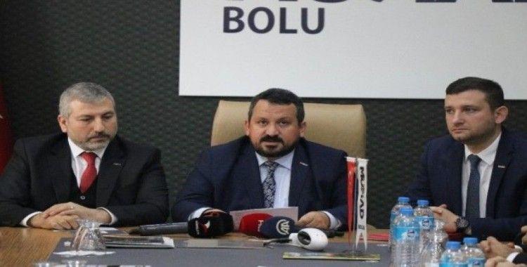 MÜSİAD Bolu Şubesi'ndeki istifalarla ilgili açıklama