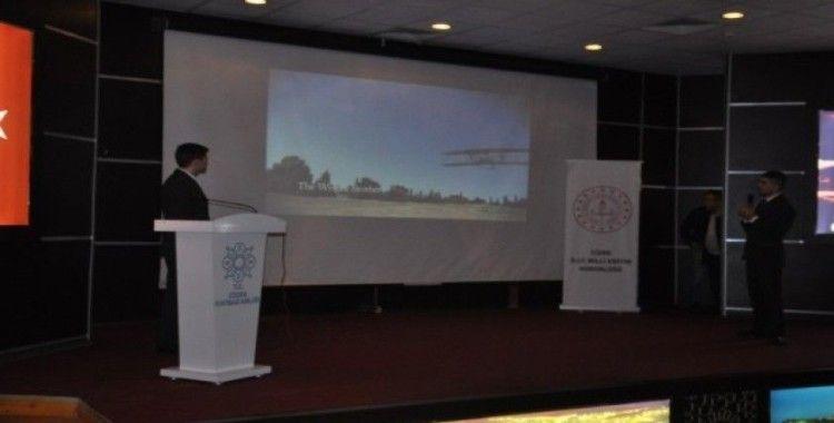 Cizre'de THY personeli öğrencilere mesleki tecrübelerini anlattı