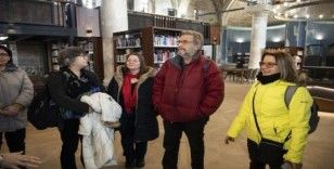 Kültür şehrine yakışır kütüphane