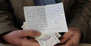 Biriktirdiği harçlığını, duygu yüklü bir mektupla bağışladı