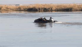 Denizde kaybolan iki bekçiyi arama çalışmaları 4'üncü günde de sürüyor