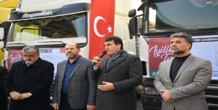 Osmangazi'den Suriye'ye yardım TIR'ı