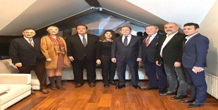 Milletvekili Hamzaçebi'den TÜMBİKON Genel Başkanı Akay'a ziyaret