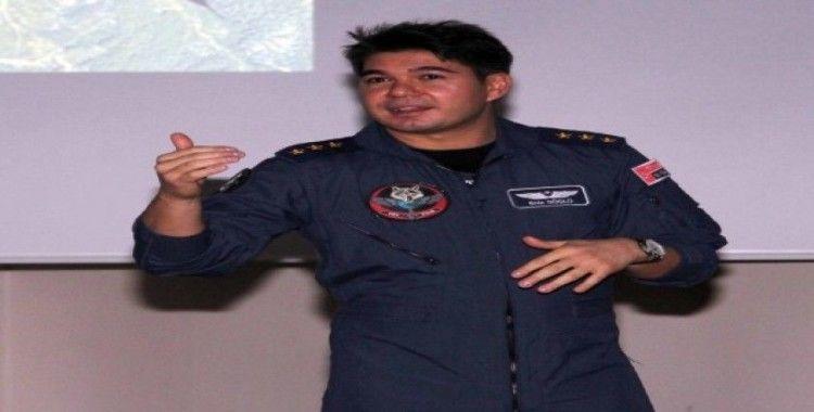 Savaş pilotu Yüzbaşı Güçlü: 'Tercihlerinizin hayatını yaşarsınız'