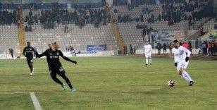 Ziraat Türkiye Kupası: BB Erzurumspor: 1 - Beşiktaş: 1 (İlk yarı)