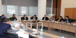 İl Sağlık Müdürlüğü'nde istişare toplantısı düzenlendi