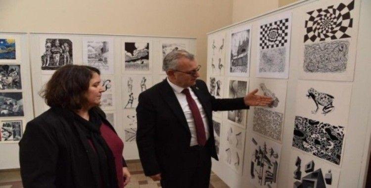 Trakya Üniversitesi Güzel Sanatlar Fakültesinden Keşan'a sanatsal dokunuş