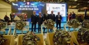 Türkiye'nin milli havacılık motoru TEI-PD170'in TUSAŞ'a teslimatı gerçekleştirildi