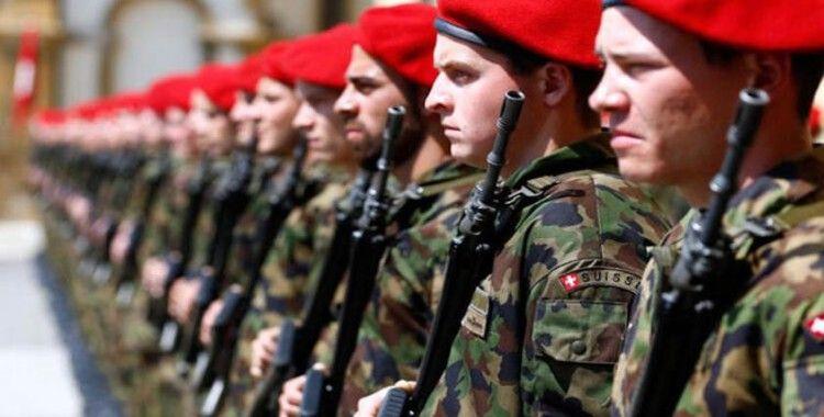 İsviçre Ordusu Davos için görevde