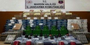 Mardin'de kargo aracında kaçak malzemeler ele geçirildi