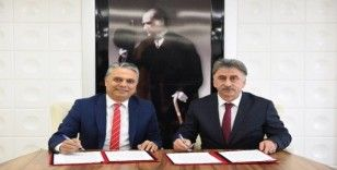Kardeş kent protokolü imzalandı
