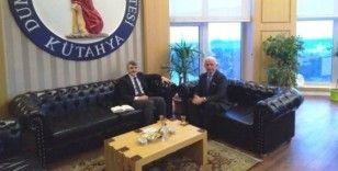 KÜTSO Meclis Başkanı Güral'dan Rektör Uysal'a ziyaret