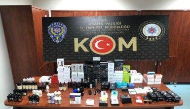 Adana'da elektronik sigara operasyonu