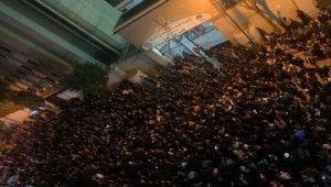 Lübnan'da göstericiler ve polis arasında arbede