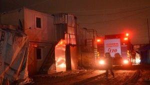 Sultangazi'de feci ölüm, bir işçi yanarak can verdi