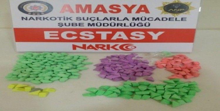 Amasya'da uyuşturucu operasyonu: 1 gözaltı