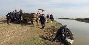 Balık avında kaybolan yaşlı adamı arama çalışmaları sürüyor