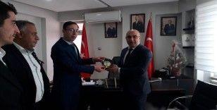 Kayaalp, Azerbaycan Başkonsolosu Guluyev'i ağırladı