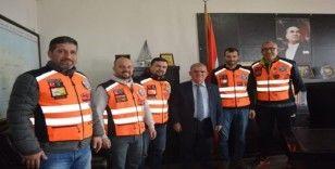 Motosiklet Kulübü üyelerinden Kaymakam Çalık'a ziyaret