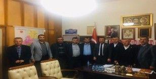 Nevşehir Ziraat Odası Başkanları, Açıkgöz'ü ziyaret etti
