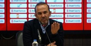"""Mehmet Özdilek: """"İlk ayağı kaybettik ama daha pes etmedik"""""""