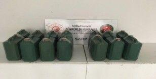 Sarp Sınır Kapısı'nda 226 kilogram kaçak bal ele geçirildi