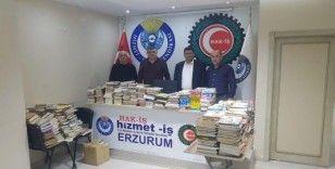 Hizmet İş Sendikası Erzurum Şubesi'nden anlamlı kampanya