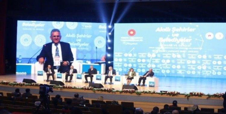 Başkan Büyükkılıç, Ankara'da Kayseri'yi anlattı