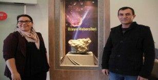 Türkiye'nin 3. büyük gök taşı Çorum Müzesi'nde sergilenmeye başladı
