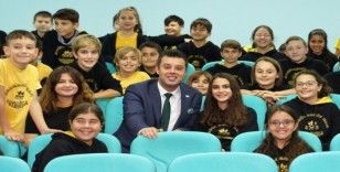 Başkan Sarıkurt öğrencilere iyi tatiller diledi