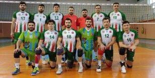 Cizre Belediyesi erkek voleybol takımı galibiyetlere devam ediyor