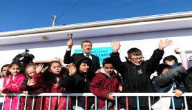 Milli Eğitim Bakanı Selçuk yarıyıl tatilini başlatan zili çaldı