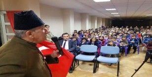 Çanakkale Gazisi Kaçmaz'ın oğlu öğrencilerle buluştu