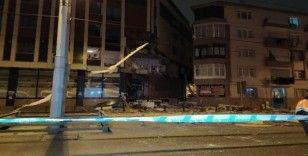Güngören'deki doğalgaz patlamasında enkaz kaldırıldı