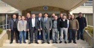 Başkan Karaca FTSO'yu Ziyaret Etti