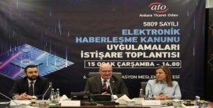 ATO telekomünikasyon sektörünün sorununa çözüm arayışını sürdürüyor